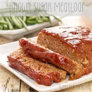 Brown Sugar Meatloaf