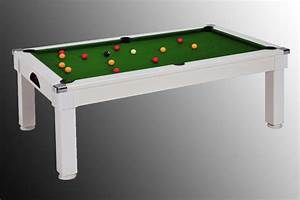 photo billard table billard table pas cher windsor blanc With tapis de billard pas cher