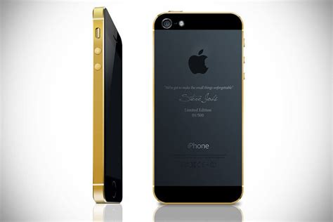 iphone limited edition gold plated limited edition iphone 5s mikeshouts