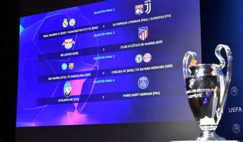 UEFA Champions League draw: Quarter-final and semi-final ...