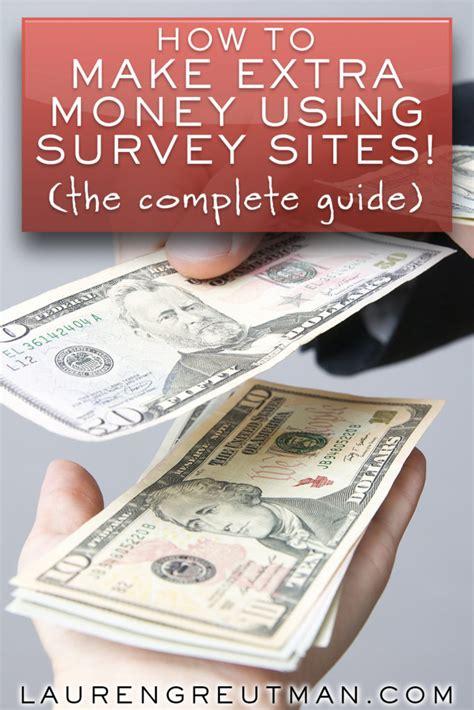 extra money  home  survey sites