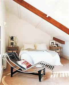 Bett Für Dachschräge : schlafzimmer mit dachschr ge 34 tolle bilder ~ Michelbontemps.com Haus und Dekorationen