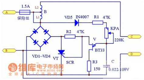 Full Automatic Non Contact Voltage Stabilizer Circuit