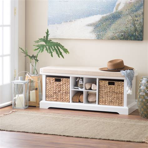 Belham Living Dempsey Entryway Storage Bench Indoor