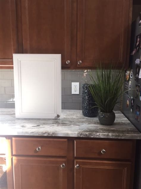 Help for cabinet colors with fantasy brown granite