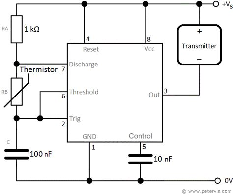 Astable With Thermistor