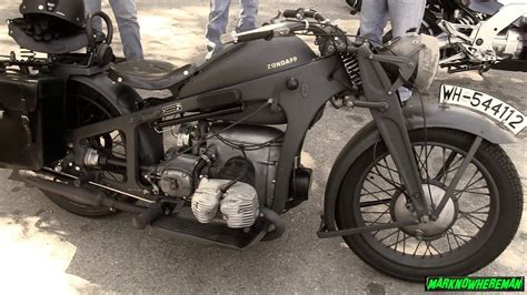 A German Wwii Motorcycle? Plus, A Classic Gsx-r1000