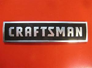 Details about craftsman tool box badge new style chest for Kitchen cabinets lowes with beats headphones stickers
