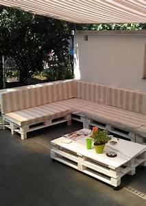Die besten 17 ideen zu europaletten lounge auf pinterest for Markise balkon mit antike tapeten floral