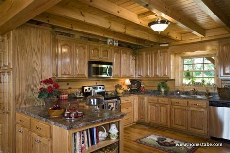 design own kitchen honest abe log home kitchen gallery 6605