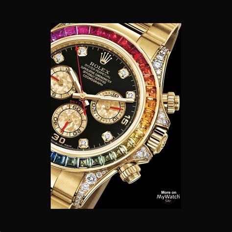 Watch Rolex Cosmograph Daytona Rainbow | Oyster Perpetual ...