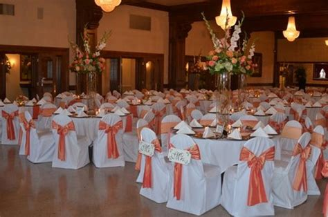 Coral Color Decorations For Wedding by Coral And Green Colorwedding Coral And Green Wedding