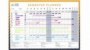 awesome semester planner template photos resume ideas With semester plan template
