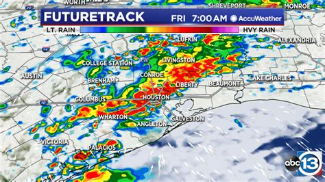 That watch goes from 6 p.m. Houston Weather: Flash Flood Watch Friday to Sunday - ABC13 Houston