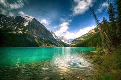 Lake 4k Louise Canada Banff National Park
