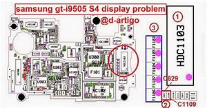 Samsung S4 I9505 Display Problem Solution Jumper Ways