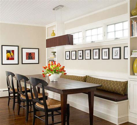 dining room banquette