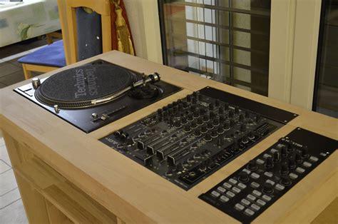 Meuble Dj Artisanal  Forum Accessoire Djing Audiofanzine