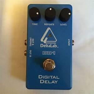 Deltalab Dd1 Digital Delay Delta Lab Pedal