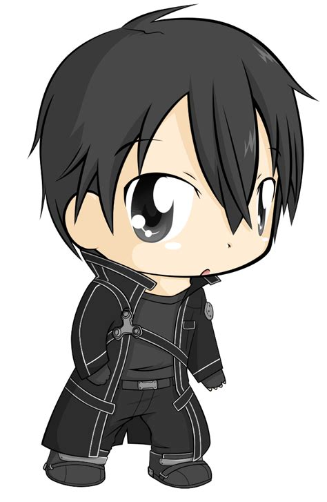I Made Some Anime Folder Icons Thought Would With You Kirito Chibi By Natsu714 On Deviantart