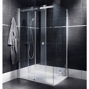 Baignoire A Porte Lapeyre : porte de douche coulissante palace porte de douche ~ Premium-room.com Idées de Décoration