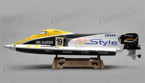 Nitrorcx Boats by New Exceed Formula 1 650mm Electric Powerboat Rc Groups