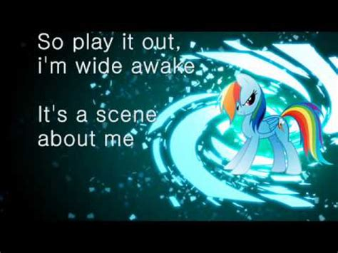 rainbow dash youre gonna   kid lyrics