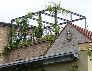 Dach Für Pergola : pergola am haus selbst bauen und begr nen ~ Sanjose-hotels-ca.com Haus und Dekorationen