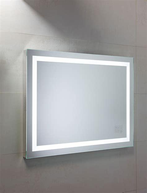Bluetooth Bathroom Mirrors by Roper Beat Bluetooth Mirror 800 X 600mm Chrome Mle420
