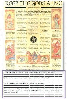 viking gods  goddesses norse mythology  traveling