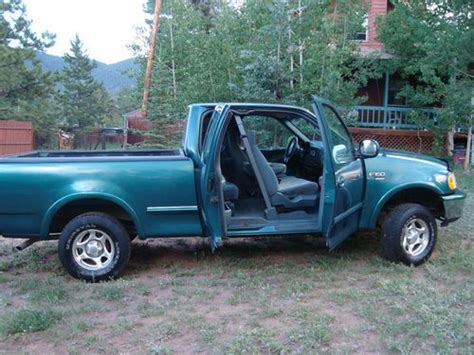 3 door ford truck buy used 1998 ford f 150 xlt extended cab 3 door 4