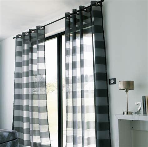voilage castorama noir polyester photo 1 10 un voilage