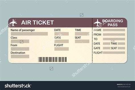 free boarding pass template microsoft airplane ticket template exle mughals