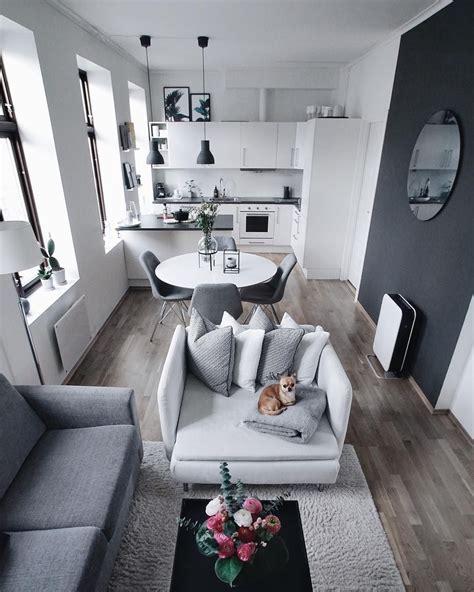 blanco gris deco salon en  decoracion de