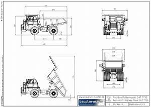 Modell Panzer Selber Bauen : modellbauplan cat 773g im ma stab 1 16 bauplan master ~ Kayakingforconservation.com Haus und Dekorationen