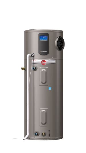 Hybrid Water Heater Diagram by New Water Heater From Rheem Reduces Energy Use By 73
