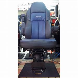 Seats Inc Legacy Silver High Back In Black Ultraleather Seats Inc Legacy Silver High Back In