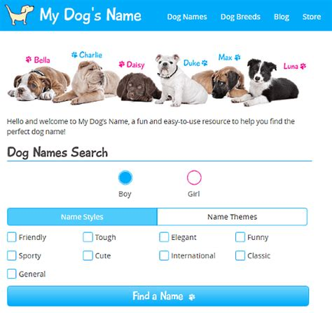 pet  generator websites