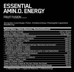 Optimum Nutrition Amino Energy For Sale At The Fatburners At Shop