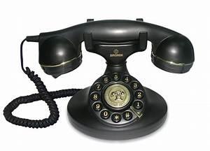Telephone Filaire Retro : brondi vintage 10 black desk phone ~ Teatrodelosmanantiales.com Idées de Décoration