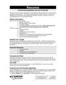 resume of best resumes