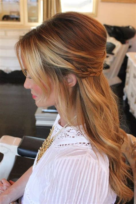 Wedding Half Updo Hairstyles by Picture Of Pretty Half Updo Wedding Hairstyles