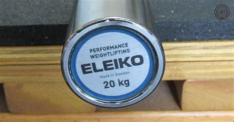 eleiko nxg performance olympic wl bar review