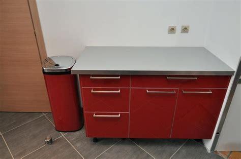 meuble cuisine rouge pas cher ou acheter une cbel laque