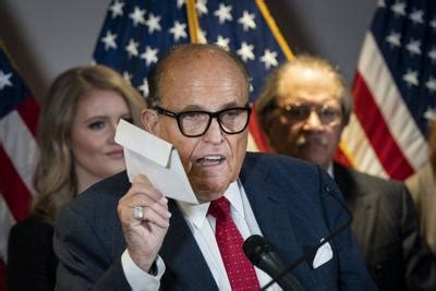 Former new york mayor rudy giuliani took hillary clinton to task over the attacks in benghazi during a fiery speech at the republican national convention. Rudy Giuliani voted with an affidavit ballot, which he ...