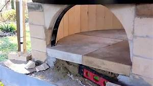 Costruzione forno a legna fai da te how to build wood fired pizza brick oven S7 YouTube