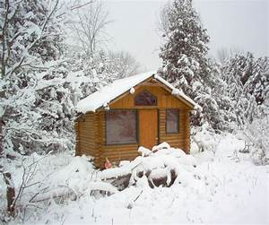 How, To, Make, A, Log, Cabin, Retreat, 7, Steps