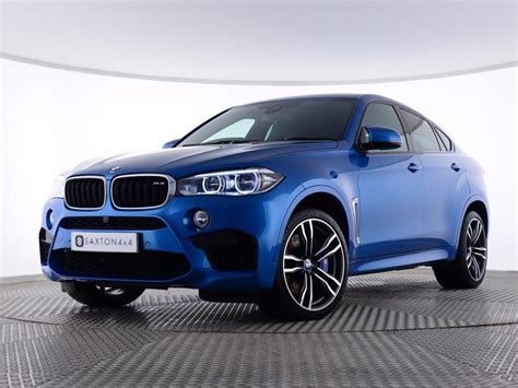 Used 2015 Bmw X6m 4.4 M Steptronic 4x4 5dr For Sale In
