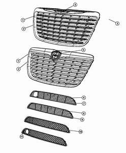 2012 Chrysler 300 Grille  Radiator  Fog  Speed  Lamps