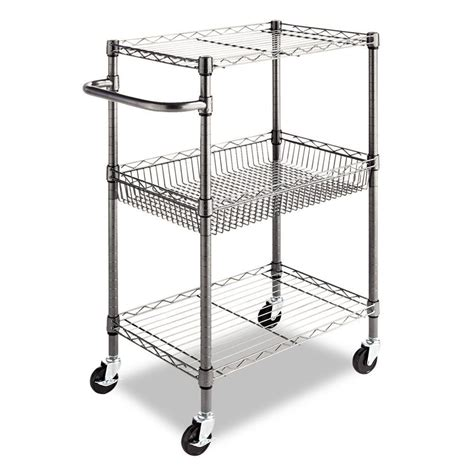 Utility Shelves by Kitchen Cart Wheels Commercial Restaurant Rolling Wire